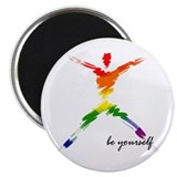Gay Pride - Be Yourself Magnet