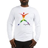 Gay Pride - Be Yourself Long Sleeve T-Shirt
