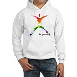 Gay Pride - Be Yourself Hoodie Sweatshirt