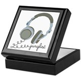 Junglist Headphones Keepsake Box