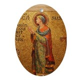 St Susanna Ornament (Oval)