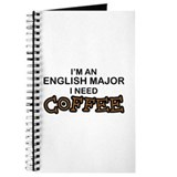 English Major Need Coffee Journal