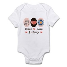 Peace Love Archery Infant Bodysuit