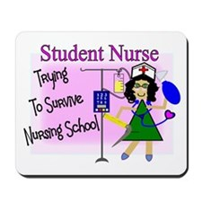 More Student Nurse Mousepad