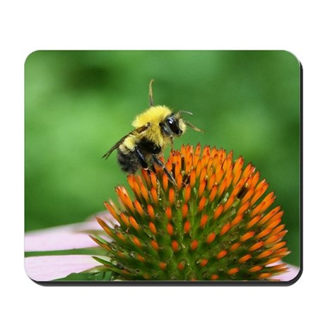 Bee Happy Mousepad