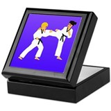 Cute Blackbelt Keepsake Box
