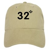 Unique 32 Baseball Cap
