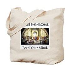 """Feed Your Mind"" Tote Bag"