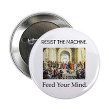"""Feed Your Mind"" Button"