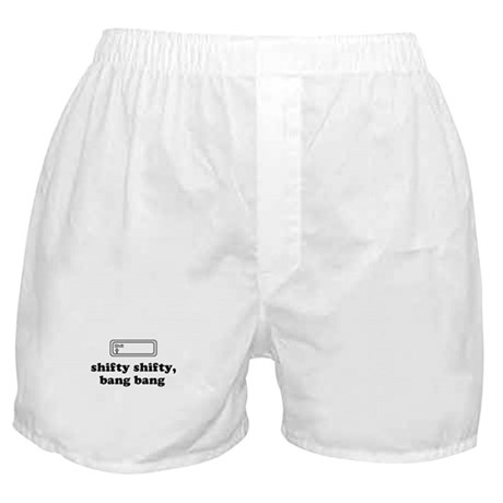 Shifty Shifty, Bang Bang Boxer Shorts