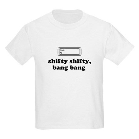 Shifty Shifty, Bang Bang Kids T-Shirt