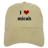 I Love micah Hat