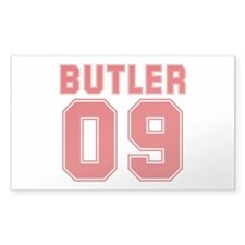 BUTLER 09 Rectangle Sticker 10 pk)