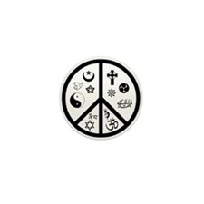 Peaceful Coexistence Mini Button
