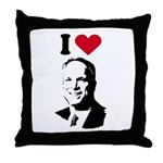 I Love McCain Throw Pillow