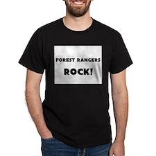 Forest Rangers ROCK T-Shirt