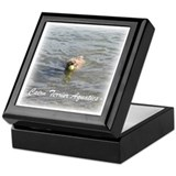 Cairn Terrier Aquatics Keepsake Box