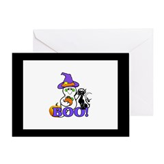 Halloween Ghost Greeting Card