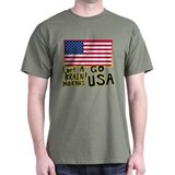 GET A BRAIN! MORANS GO USA T-Shirt