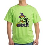 Halloween Ghost Green T-Shirt