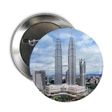 "MALAYSIA TWIN TOWER 2.25"" Button (10 pack)"