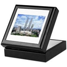 MALAYSIA TWIN TOWER Keepsake Box