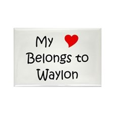 Funny Waylon Rectangle Magnet (100 pack)