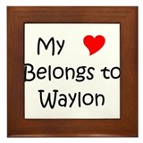 Unique Waylon Framed Tile