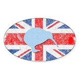 British Kiwi Oval Decal
