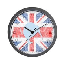 British Kiwi Wall Clock
