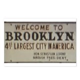 Welcome to Brooklyn Postcards (Package of 8)