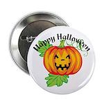 Happy Halloween Pumpkin 2.25
