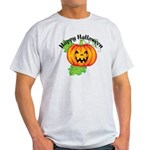 Happy Halloween Pumpkin Light T-Shirt