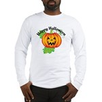 Happy Halloween Pumpkin Long Sleeve T-Shirt
