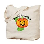 Happy Halloween Pumpkin Tote Bag