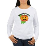 Happy Halloween Pumpkin Women's Long Sleeve T-Shir