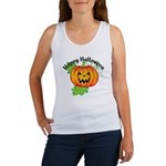 Happy Halloween Pumpkin Women's Tank Top