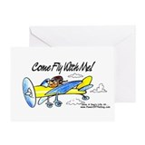 &amp;quot;FLY WITH ME!&amp;quot; Greeting Card