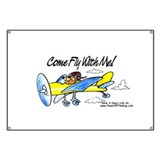 &quot;FLY WITH ME!&quot; Banner