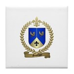 GAUTHIER Family Crest Tile Coaster