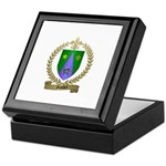 GAUDET Family Crest Keepsake Box