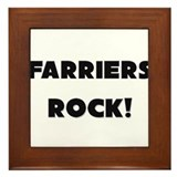 Farriers ROCK Framed Tile