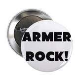 "Farmers ROCK 2.25"" Button (10 pack)"