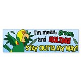 Molting DYH Amazon Parrot Bumper Bumper Sticker