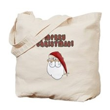 Merry Christmas Santa Clause Tote Bag