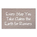 TOP Run Earth Decal