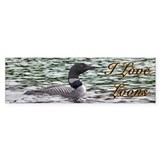 Loon Bumper Stickers