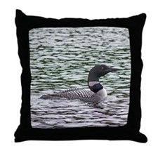 Loon Throw Pillow