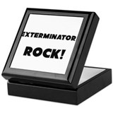 Exterminators ROCK Keepsake Box