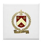 FRIGAULT Family Crest Tile Coaster